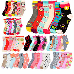 Girls Socks Child & Youth Sizes Ships Free in US!  Buy 2 & SAVE!