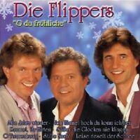 DIE FLIPPERS - O DU FRÖHLICHE  CD  14 TRACKS WEIHNACHTSLIEDER / SCHLAGER  NEU