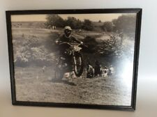 "1980's PHOTO 16""x12"", Cross Country, Grand Prix, Motorcycle Racing, Dirt Bike,"