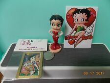 Vintage Betty Boop Ornament, Magnet and Miniature Framed Picture