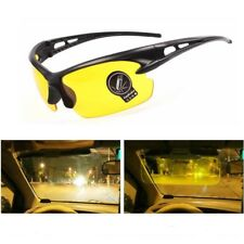 Spring Night Security Driving Anti Glare Vision HD Yellow Lens Sunglasses