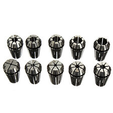 ER16 10Pcs Spring Collet Set For CNC Milling Lathe Tool