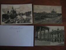 LOT 3 ANTIQUE POSTCARD TOPOGRAPHICAL OLD BERLIN, GERMANY POSTCARDS