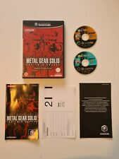NINTENDO GAMECUBE METAL GEAR SOLID TWIN SNAKES TESTED EXCELLENT CONDITION
