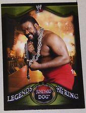 Junkyard Dog WWE 2009 Topps Legends of the Ring Card #10 JYD Wrestling Superstar
