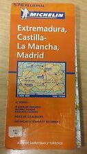 Extremadura, Castilla-La Mancha, Madrid: Michelin Map (M16)
