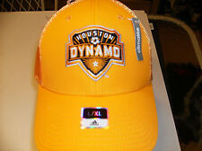 e40df5c477b Houston Dynamo MLS Netburner hat by Adidas Climalite flex L XL