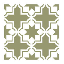 Wall Moroccan Reusable Tile Stencil T0059 for Wall Decor Furniture Floor Craft