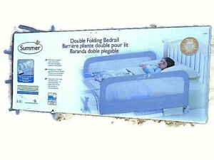 Summer Double Folding Bedrail Model 12554 Twin to Queen size Matresses