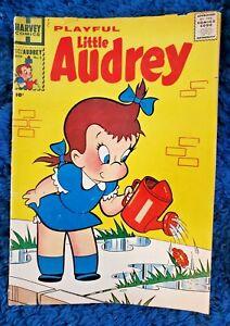 Vintage PLAYFUL LITTLE AUDREY #2 SECOND ISSUE HARVEY AUG 1957 VG