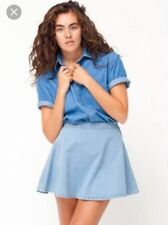American Apparel Denim Circle Skirt (XS)