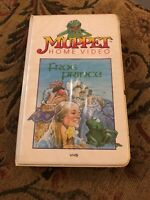 The Frog Prince  * Jim Henson Video * VHS * 805VS Clamshell * Original Release *