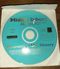Middle Scho 00002089 ol Advantage Geometry and U.S. History Cd-Rom for Windows