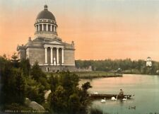 Mausoleum, Anhalt, Vintage German Photography Poster