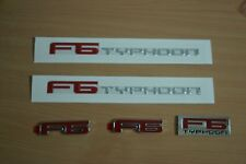 FPV F6 Typhoon Badge Set suit BA BF Series, Front/Rear Boot/Side Badge set