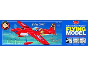 "Guillows 703 Edge 540 Lazercut 20"" Model Kit Made in USA Free Shipping"