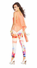 New Women's sz 27 GUESS Brittney Skinny Ankle Jeans -Digital Print -MID-RISE