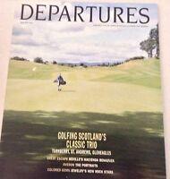 Departures Magazine Golfing Scotland's Classic Trio Mar/April 1994 072717nonrh2