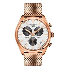 NEW TISSOT PR100 ROSE GOLD PVD CHRONO T101.417.33.031.01 T1014173303101