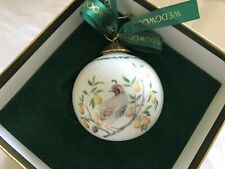 Wedgwood ~ Partridge ~ 1st Day of Christmas Ball Orn. ~ 12 Days Series ~ Nib