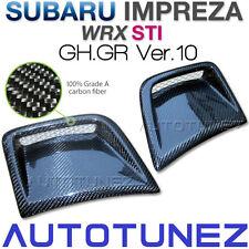 Carbon Fiber Bumper Side Vent Intake For Subaru Impreza WRX STI GH GR Hatchback