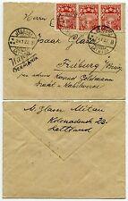 LATVIA JELGAWA 1922 SMALL ENVELOPE to GERMANY