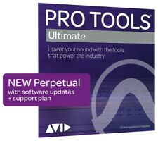 Avid Pro Tools HD Perpetual licence with new update and support-plan (1-1-2020)