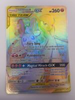 Gardevoir & Sylveon GX - 216/236 Unbroken Bonds (Pokemon) Full Art Secret Rare