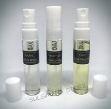 3 perfumes - Kilian Black Phantom, Nasomatto Baraonda, Ajmal Amber Wood - ea 6ml