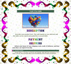 AUCTION TEMPLATE Colorful Spirally Design - FREE SHIPPING