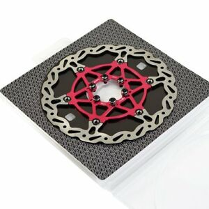 The World's Lightest Floating Rotor~ASHIMA Flo-Tor ARF-1 Disc Rotor,180mm,Red
