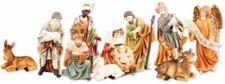 Xmas Nativity Set Christmas Ornament 11 Figurines Christmas Decoration Coloured