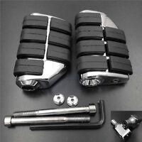 Front Foot Peg Chrome fit For 2004-2008 Honda VTX 1300C 1800 C/F Models 2007