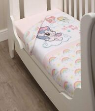 NEW My Little Pony Padded Quilt & 2 Fitted Sheets Playskool Baby Nursery Bed Set