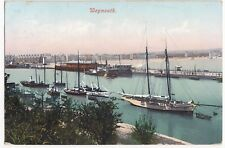 Dorset; Weymouth PPC, Local 1907 PMK, Shows Harbour From the Nothe