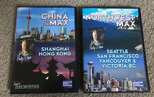 Rudy Maxa Travel DVD Set Of 2 China & Northwest To The Max