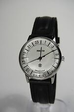 Russian mechanical watch RAKETA QUALITY MARK 24H White dial. 34 mm