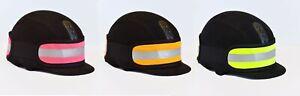 New Hi Vis Reflective Hat Band Rider Safety Yellow Pink Orange High Visibility