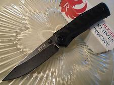 """CRKT Ruger Crack-Shot Assisted Steigerwalt Pocket Knife R1201K 8Cr13MoV 7 1/4"""" O"""