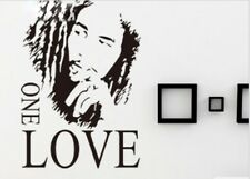 Bob Marley ONE LOVE Removable Vinyl Wall Sticker Decal For Home Decor