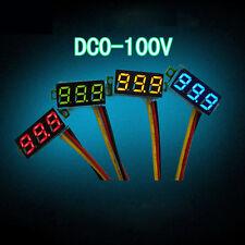 "0.28"" Digital Voltmeter Panel Meter three-wire LED DC 0-100V Voltage Red Durable"