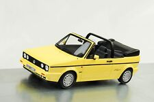 1991 Volkswagen VW Golf I cabriolet young line jazmín amarillo 1:18 Otto Mobile