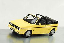 1991 Volkswagen VW Golf I Cabriolet Young Line jasmin gelb 1:18 Ottomobile