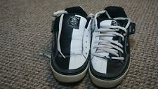 Circa 205vlc skate shoes mens 8.5 women 10.5 black and white