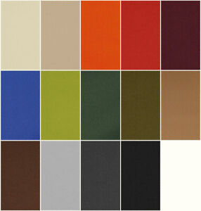 Markisenstoff Segeltuch 14 Farben, Bezugsstoff Meterware Indoor Outdoor robust