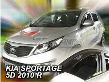 2 Deflettori Aria Antiturbo KIA Sportage III 2010-2015 5 porte