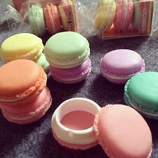 4* Caja de joyería Macarons para Pendientes escuche Anillo Collar guardajoyas