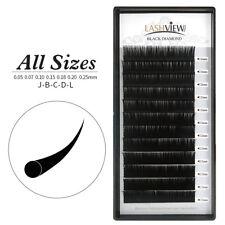 All Size Mink Eyelash Extensions Salon Use Professional Makeup False Lashes 0.07mm C Mix