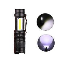 Mini USB Aufladbare LED Taschenlampe 3800lm 3 Modi Zoomable Licht für Camping