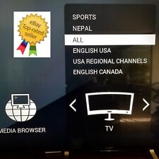 Iptv Uhd Usa with Regional Channels Canada Europe Uk with Epl